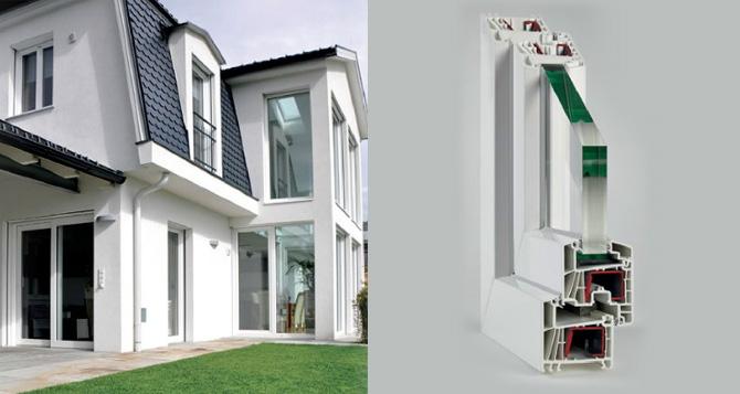 Finestre in pvc per isolamento termico alpi fenster for Offerta finestre pvc